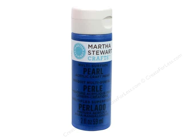 Martha Stewart Craft Paint by Plaid Pearl Cornflower 2 oz.