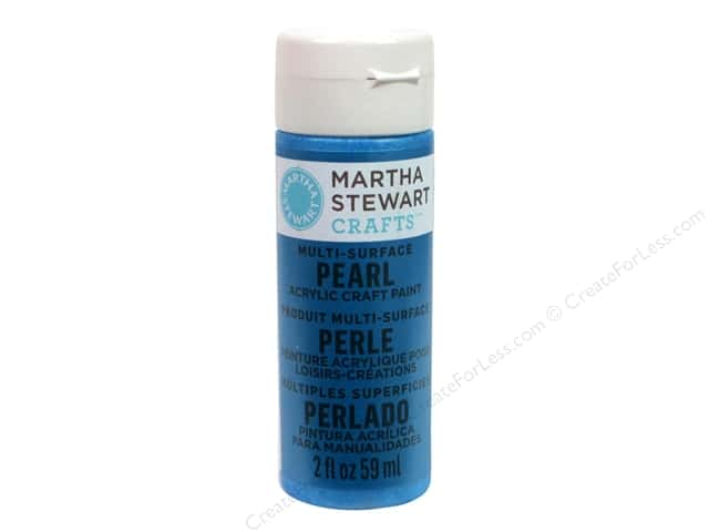 Martha Stewart Craft Paint by Plaid Pearl Splash 2 oz.