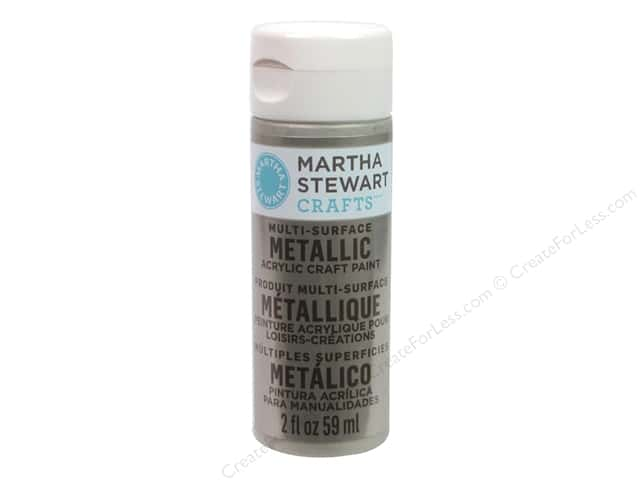 Martha Stewart Craft Paint by Plaid Metallic Champagne 2oz