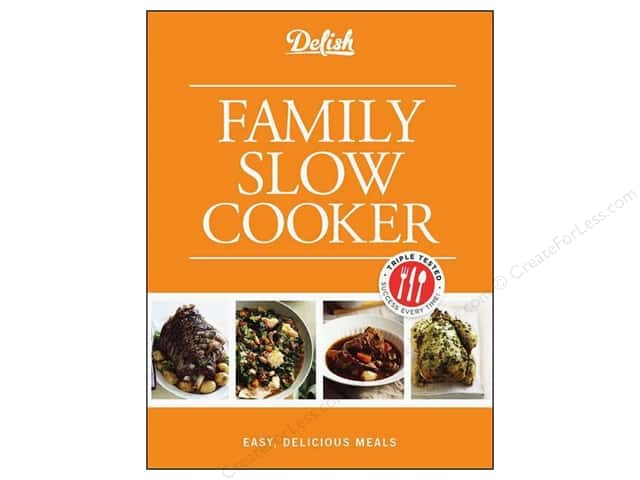 Hearst Delish Family Slow Cooker Book