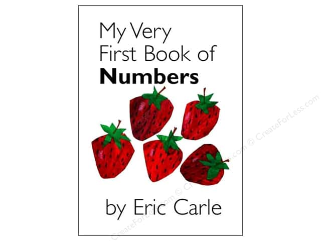 Penguin Eric Carle My Very First Book Of Numbrs Book