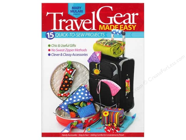 Mary Mulari Travel Gear Made Easy Book