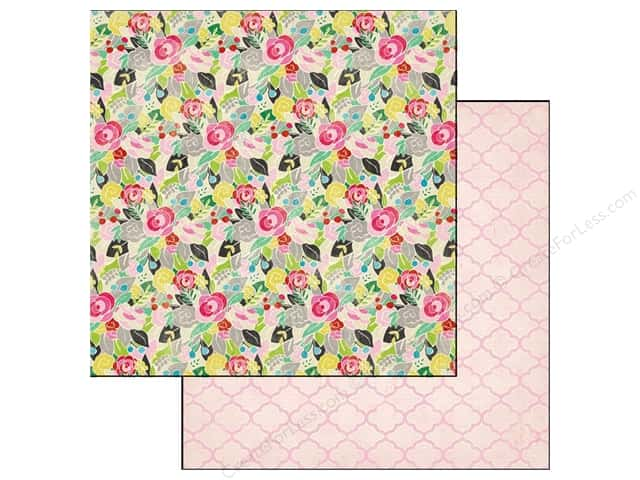 Crate Paper 12 x 12 in. Paper On Trend Haute (25 pieces)
