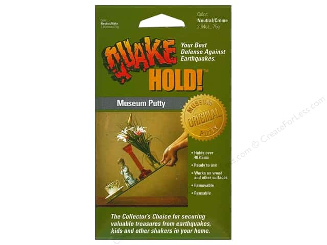 Quake Hold Ready America Museum Putty 2.64oz Neutral/Creme
