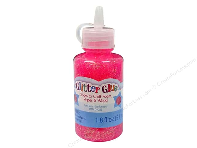 Sulyn Glitter Glue 1.8oz Sparkly Raspberry