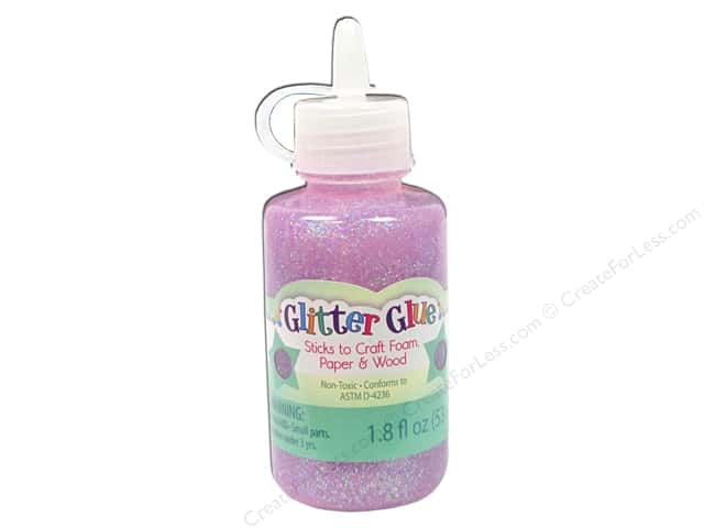Sulyn Glitter Glue 1.8oz Sparkly Lavender Lace