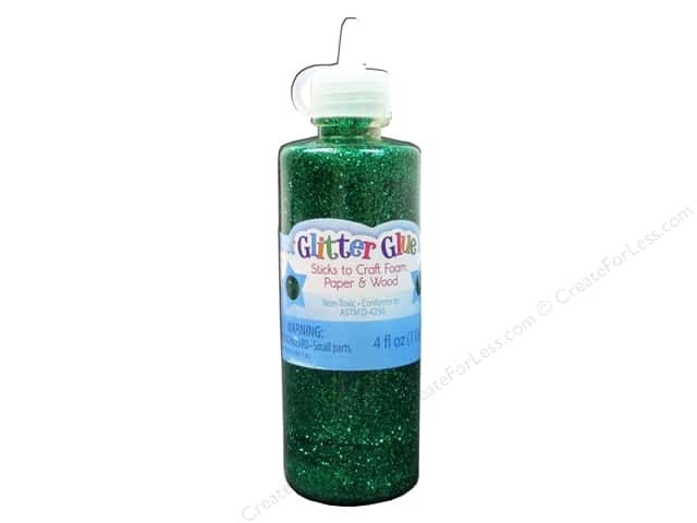 Sulyn Glitter Glue 4oz Kelly Green