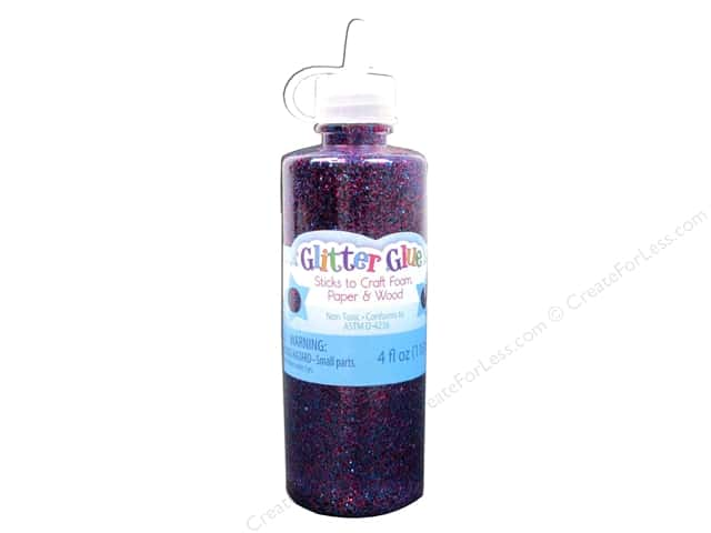 Sulyn Glitter Glue 4oz. Purple
