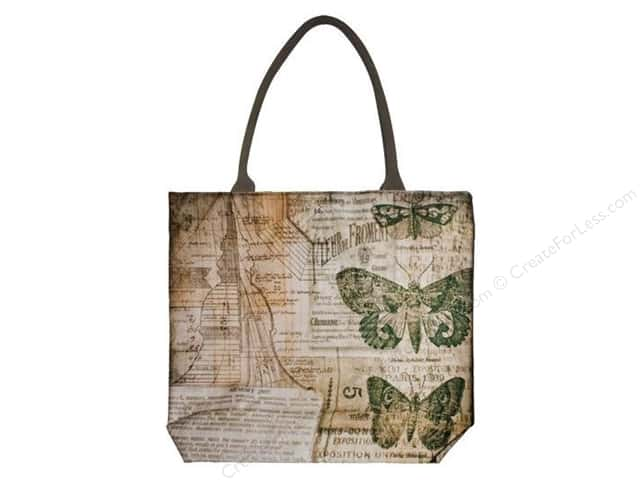 Tim Holtz District Market Tote Crowded Attic