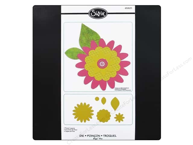 Sizzix Bigz Pro Die Flower Layers by Dena Designs