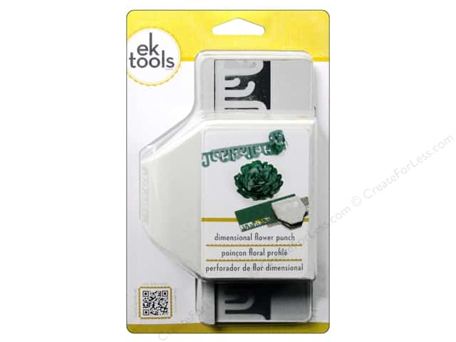 EK Paper Shapers Large Edger Punch Paradise Flower