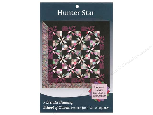 Bear Paw Productions School of Charm Hunter Star Pattern
