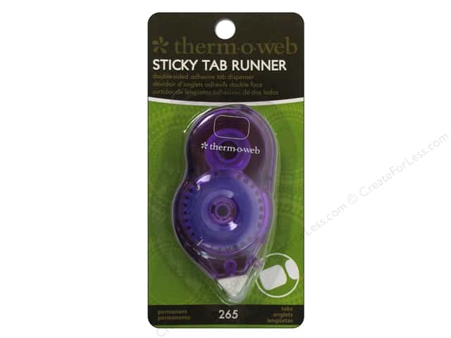 Therm O Web Tape Runner Sticky Tab Mini Permanent 265pc