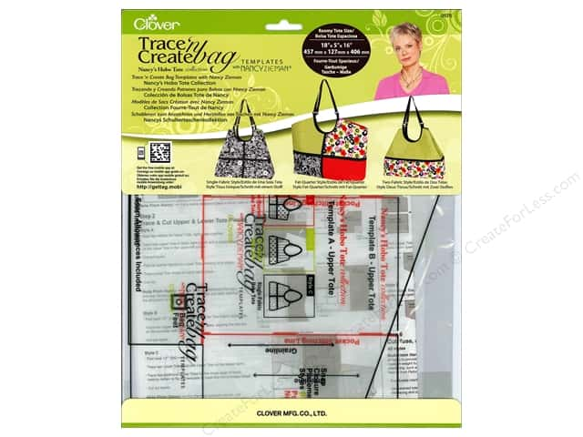 Clover Template Trace N Create Zieman Bag Hobo Tote