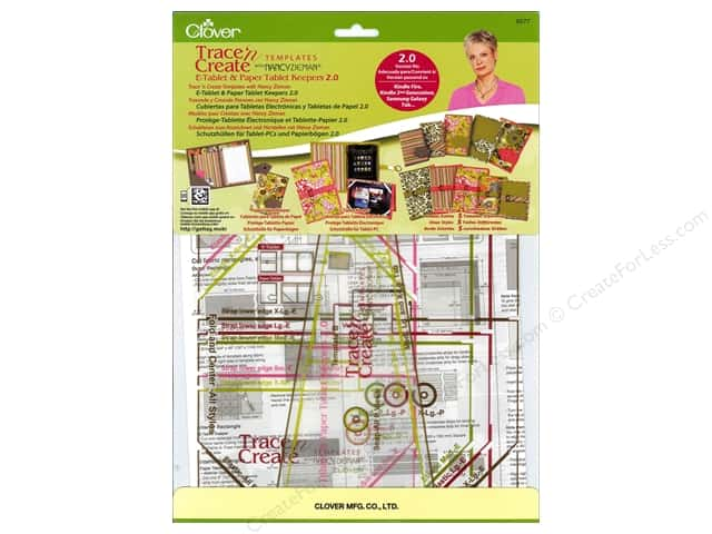 Clover Template Trace N Create Zieman E-Tablet Paper