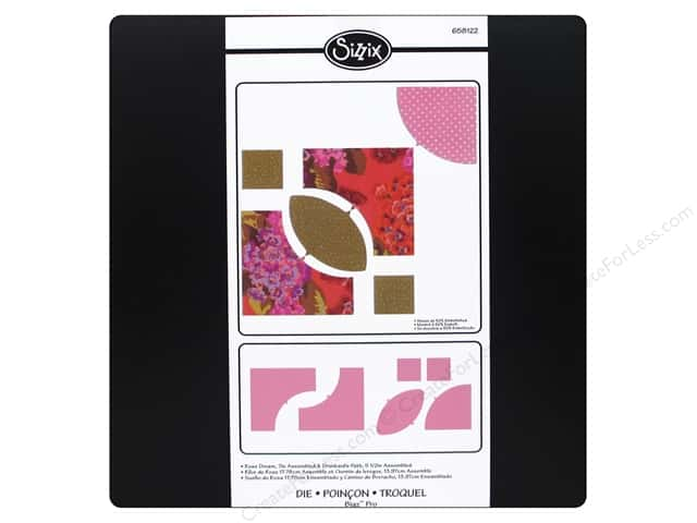 Sizzix Bigz Pro Die Rose Dream 7""