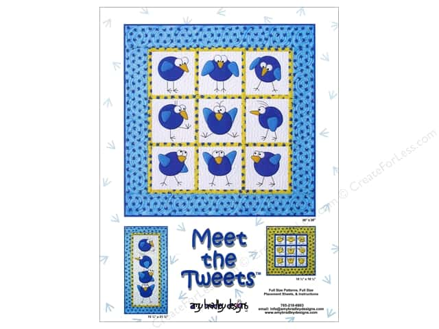 Amy Bradley Designs Meet The Tweets Pattern