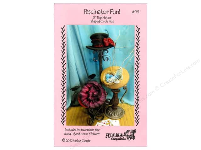 Annie's Keepsakes Fascinator Fun Pattern