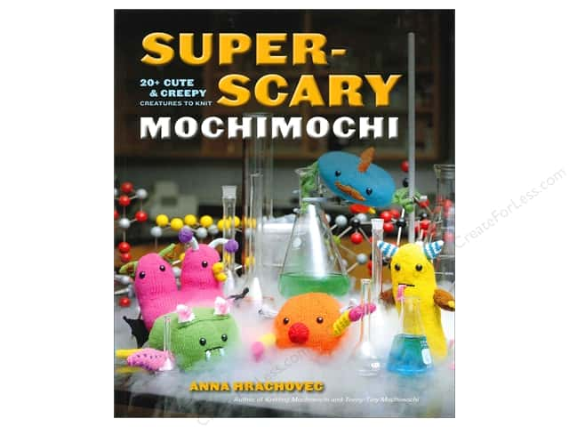 Potter Publishers Knitting Super Scary Mochimochi Book