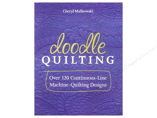C&T Publishing Doodle Quilting Book by Cheryl Malkowski