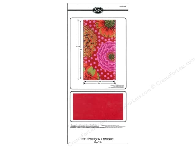 Sizzix Bigz XL Die Rectangle 4 in. x 8 in.  Finished