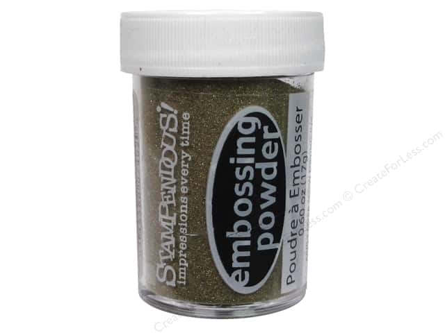 Stampendous Embossing Powder 0.60oz Detail Gold