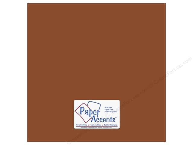 Cardstock 12 x 12 in. #18068 Smooth Mocha Divine (25 sheets)