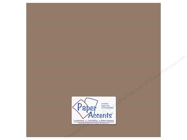 Cardstock 12 x 12 in. #18075 Smooth Dusk by Paper Accents (25 sheets)