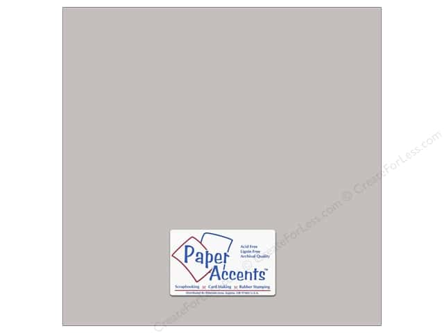 Cardstock 12 x 12 in. #18078 Smooth Hurricane by Paper Accents (25 sheets)