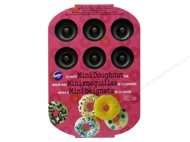 Wilton Bakeware Pan Donut Mini 12 Cavity