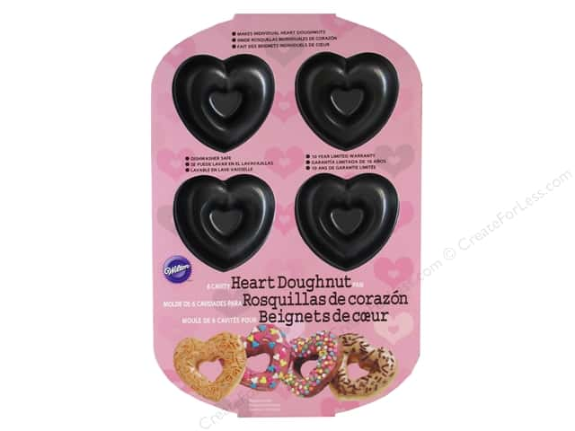 Wilton Heart Doughnut Pan 6-Cavity
