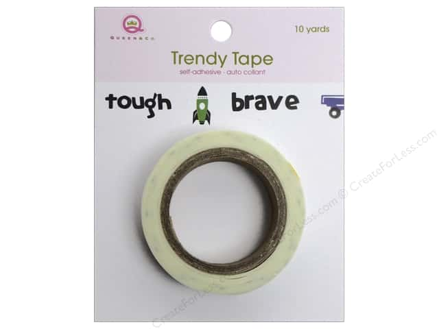 Queen&Co Trendy Tape 10yd Icons Boy