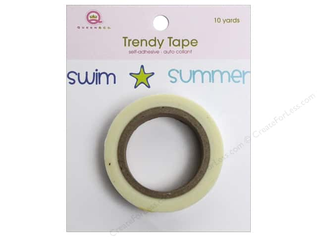 Queen&Co Trendy Tape 10yd Icons Summer