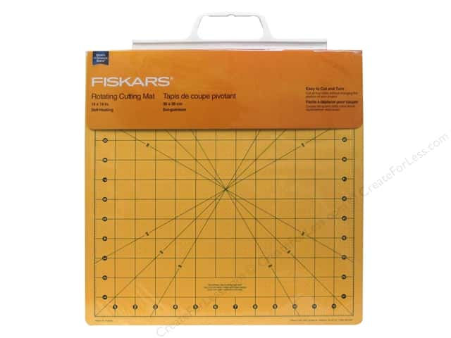 "Fiskars Cutting Mat Self-Healing Rotating 14""x 14"""