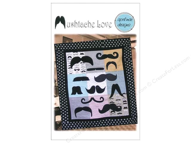 April Mae Designs Mustache Love Pattern