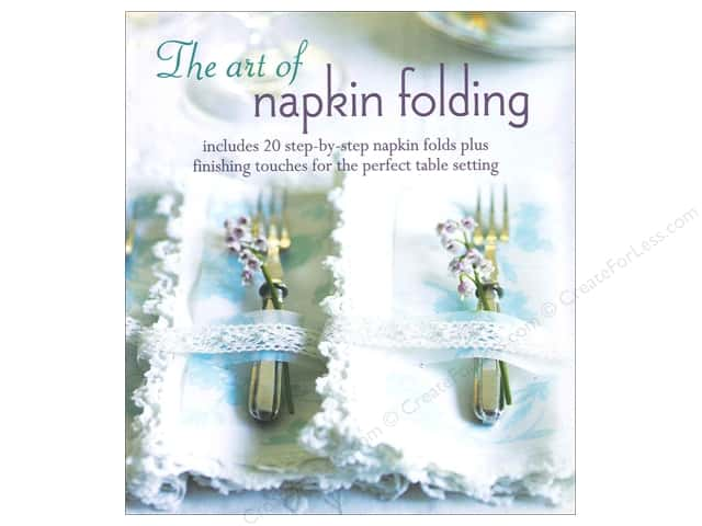 Ryland Peters & Small The Art Of Napkin Folding Book
