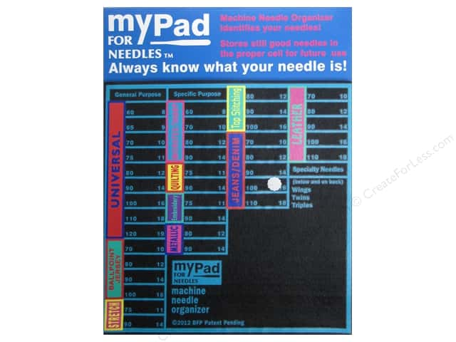 Grabbit myPad Organizer for Needles