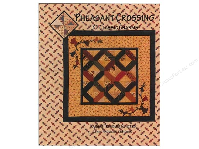 Kansas Troubles Quilters Pheasant Crossing Pattern