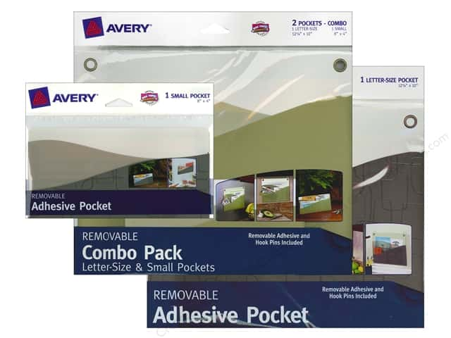Avery Adhesive Pocket