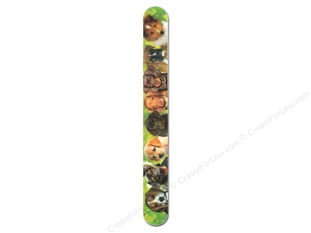 FotoFiles Nail File 7 in. Puppy Faces