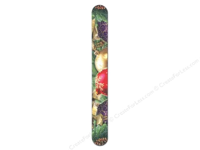 "FotoFiles Nail File 7"" Christmas Ornaments"