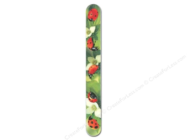 "FotoFiles Nail File 7"" Ladybugs"