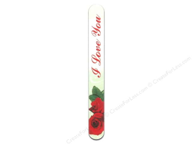 FotoFiles Nail File 7 in. I Love You