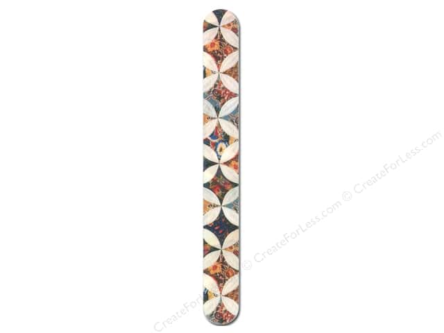 FotoFiles Nail File 7 in. Kaleidoscope Quilt