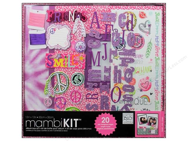"Me&My Big Ideas Album Kit 12""x 12"" Feathered Friends"