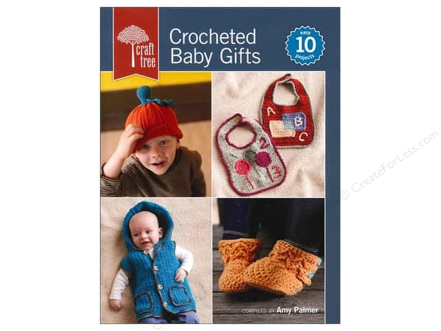 Interweave Press Craft Tree Crocheted Baby Gifts Book