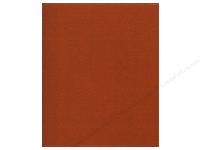 Bazzill 8 1/2 x 11 in. Cardstock Dotted Swiss Terra Cotta 25 pc.