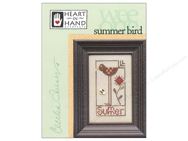 Heart In Hand Wee One Bird Summer Pattern by Cecilia Turner
