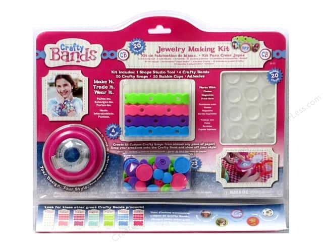 Epiphany Tools Crafty Bands Starter Jewelry Making Kit