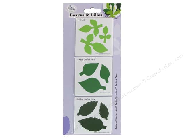 Quilled Creations Tools Quilling Dies Leaves & Lily